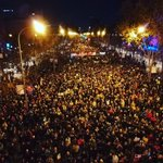 Image for the Tweet beginning: 500'000 people marched in Madrid