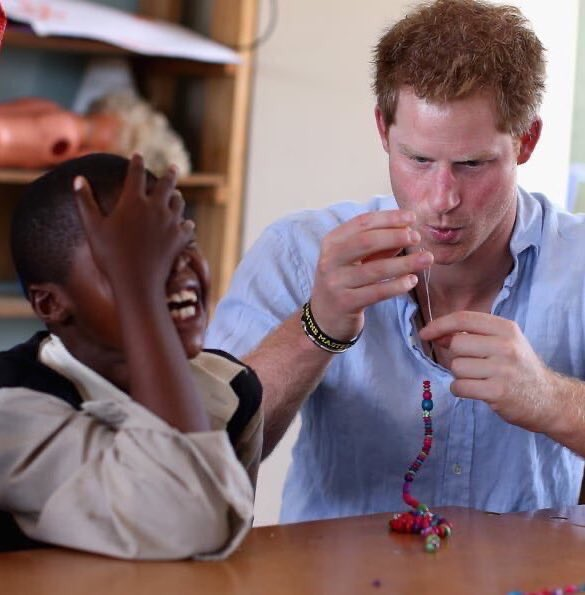 That day Harry tried to make jewelry in Lesotho...  Happy Saturday! <br>http://pic.twitter.com/VyUJ4pyVFm