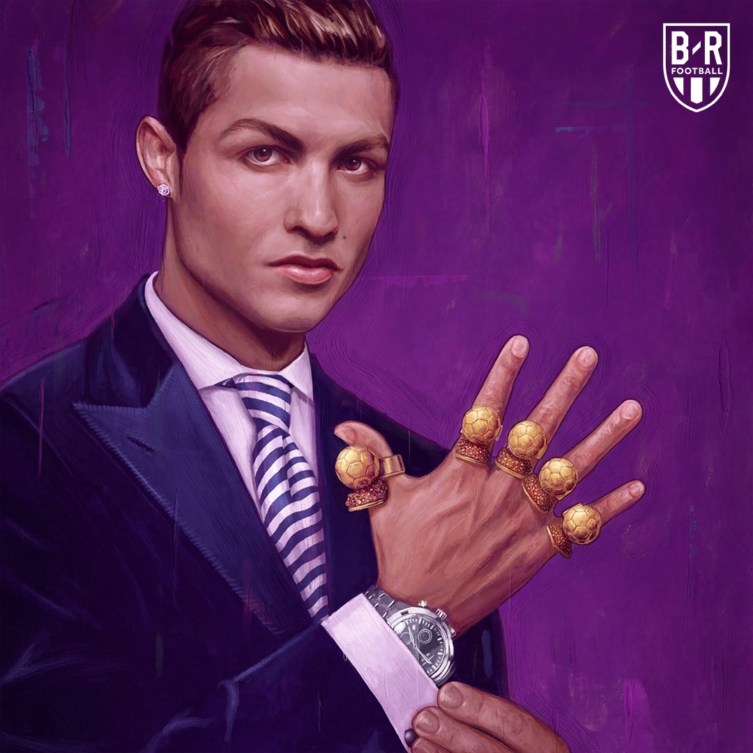 Two years ago today, @Cristiano won his fifth Ballon d'Or after leading Real to the Champions League, La Liga, Super Cup and Club World Cup titles 💪