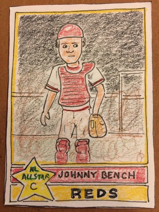 Happy Birthday to the Little General, Johnny Bench.
