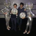 🕺🏽Carlos and @LandoNorris 80's Xmas party edition!  @McLarenF1   #carlossainz #partycrushers