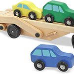 Image for the Tweet beginning: Melissa & Doug Car Transporter