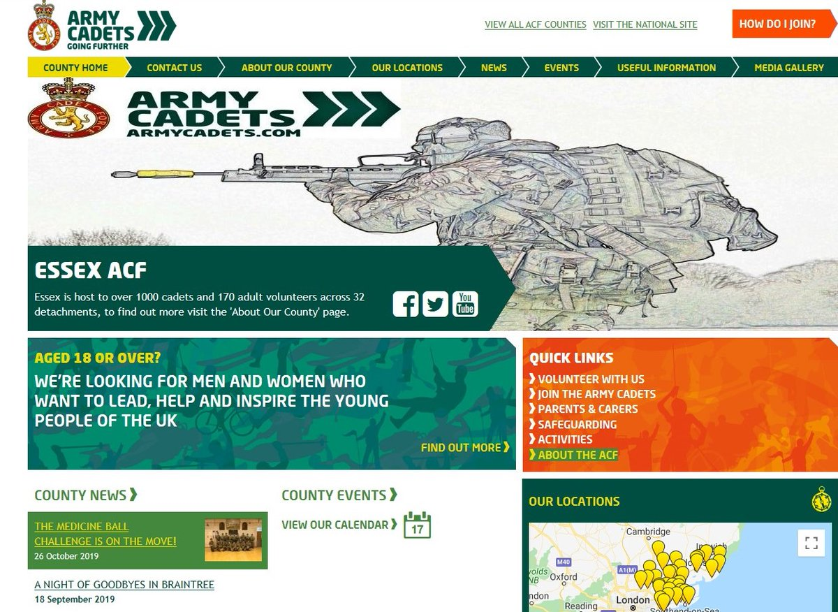 Have you seen our #Website reccentlty ? #ACF