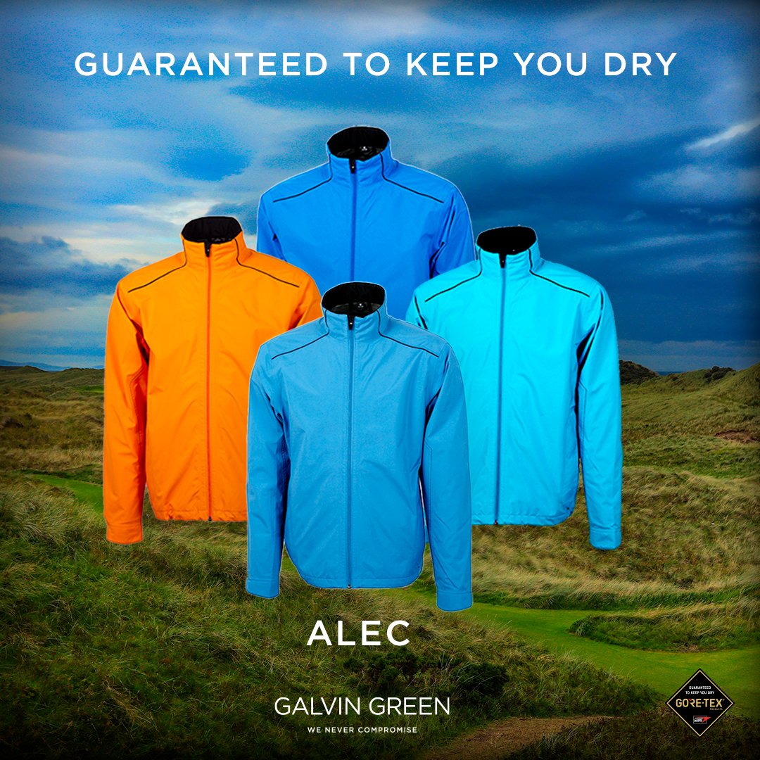 The Upcycle Edition - ALEC jacket in GORE-TEX Paclite® technology. Available in 4 color options → galvingreen.com