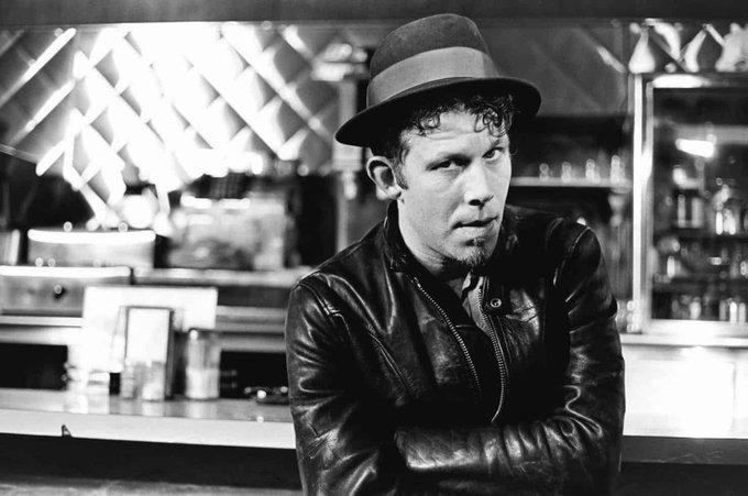"""Happy 70th Birthday to Tom Waits. \""""Won\t you say you\ll meet me down on Heart Attack And Vine?\"""" I x"""