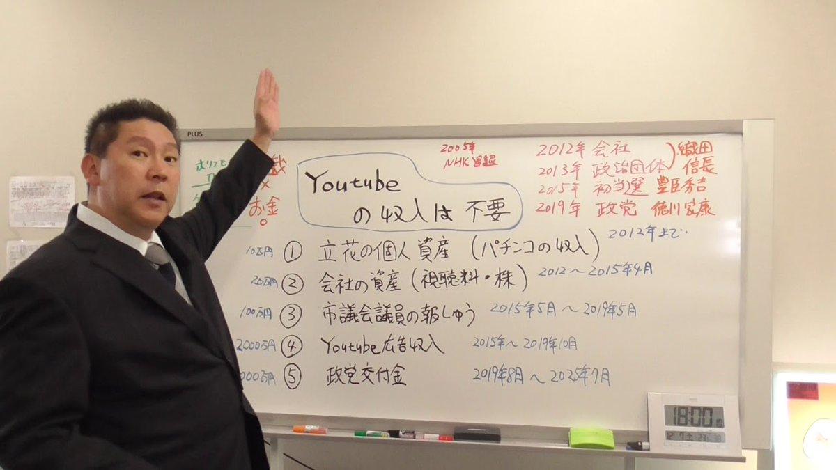 立花孝志のYouTubeチャンネルに広告収入がなくなった理由とその対策【立花孝志は徳川家康になる