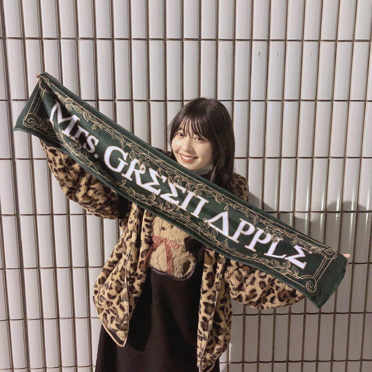 Mrs. GREEN APPLEさんの横浜アリーナ LIVEに行ってきました😚💕💕すごい幸せな時間だったあ🥰🥰 #MrsGREENAPPLE