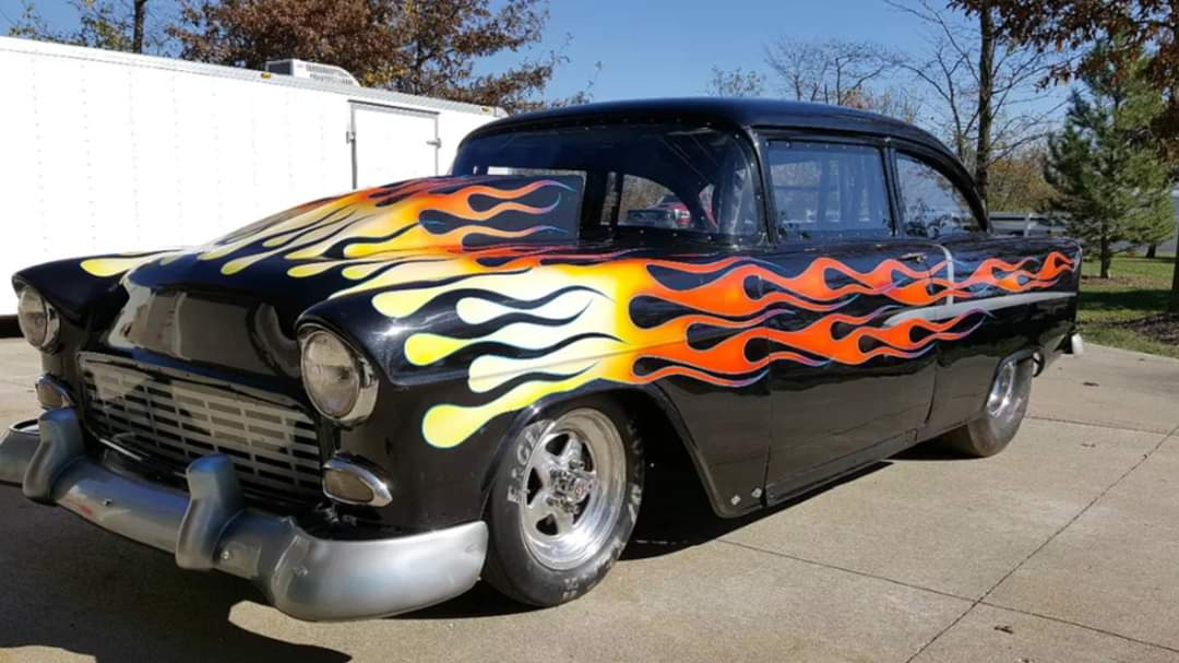 My old 55 racecar <br>http://pic.twitter.com/X4XQG0hWne