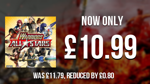 Warriors All-Stars has dropped by £0.80 and is now £10.99  #WarriorsAllStars