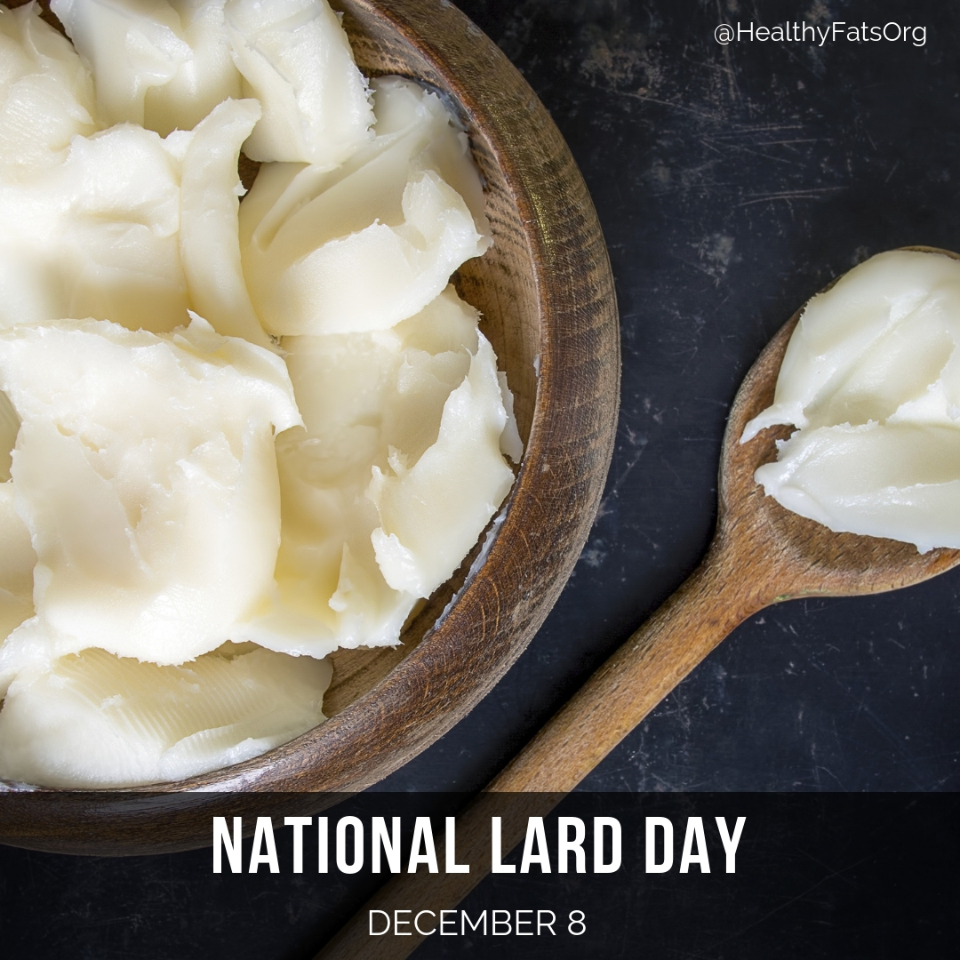 Tomorrow is National Lard day. Who cooks with natural fats? <br>http://pic.twitter.com/KaqNGf8uGE