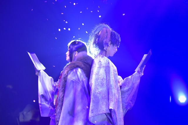 【公演レポート】極上文學「桜の森の満開の下」が開幕、荒木健太朗「セッションも楽しんで」(コメントあり)