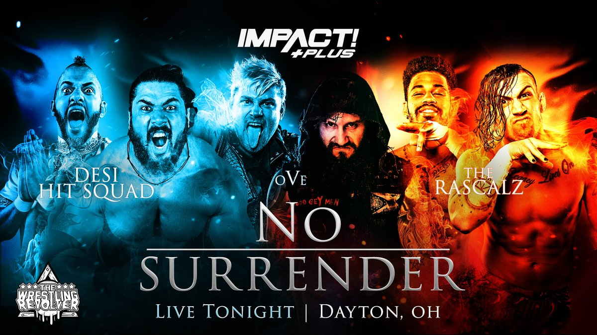 Impact Announces 'No Surrender' Will Not Be Available Live On Impact Plus