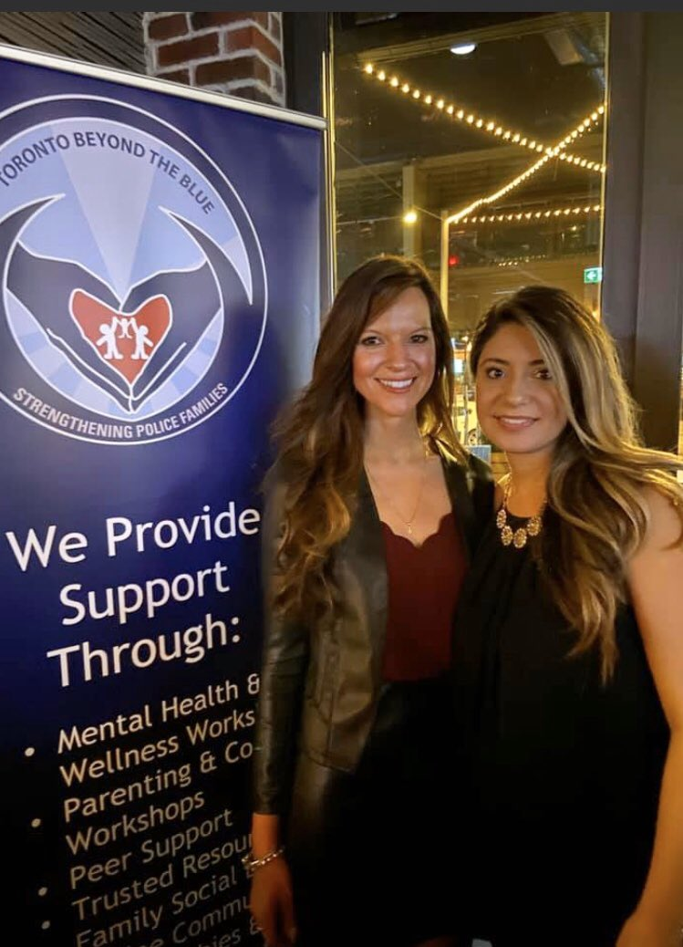 Join me today in wishing my friend @DilnazGarda @TorontoBTB a very Happy Birthday! I would like her to know that everything she puts out to themakes a difference! I proudly walk alongside her as a #mentalhealth advocate & proud supporter of #FirstResponders! #StarfishClub <br>http://pic.twitter.com/mHeYRhr7XJ