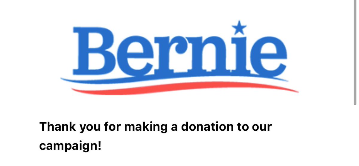 This is your sign to donate to #BernieSanders2020  <br>http://pic.twitter.com/MNwB386mdw