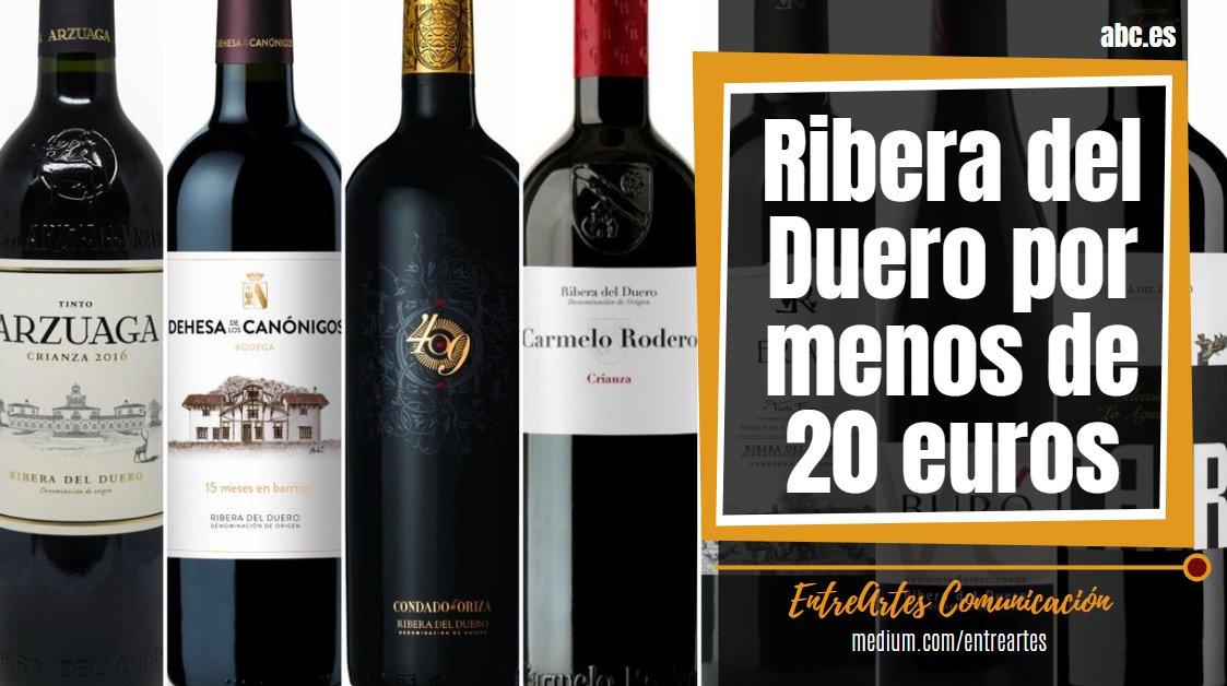 12 + 1 excelentes vinos de Ribera del Duero por menos de 20 euros ✅ Una D.O. de moda en los últimos años. Sus vinos son un placer a tono con la gastronomía   🔗 📰 @ABCviajar  🌐   #MarcaEspaña #Turismo #LifeStyle #TourSpain