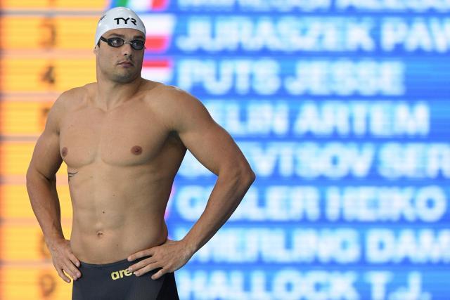 Championnats dEurope de natation (pb) : Florent Manaudou se qualifie pour la finale du 50 m papillon ow.ly/GrLo30pZStU