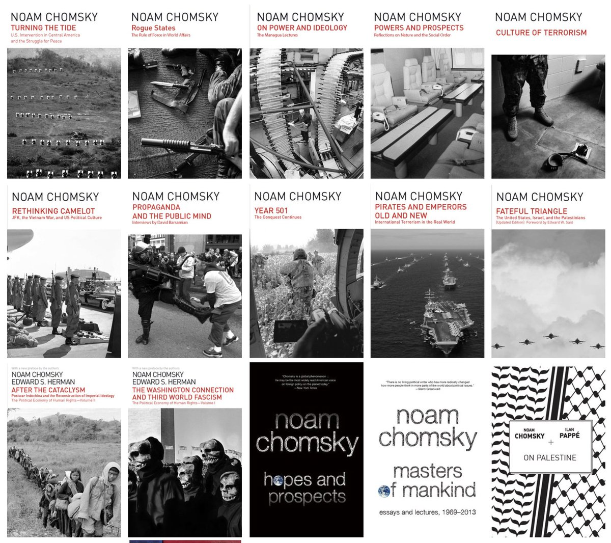 The Noam Chomsky Collection  https://www. haymarketbooks.org/blogs/11-the-n oam-chomsky-collection  … <br>http://pic.twitter.com/PAxZfdVgZb