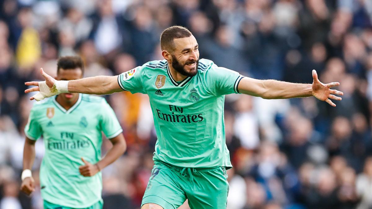 ريال مدريد ويتفوق على اسبانيول في الدوري الاسباني بثنائية نظيفة