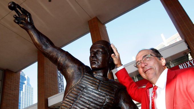 One word:      .  Happy 72nd birthday, Johnny Bench!