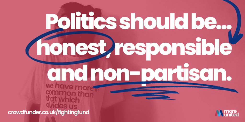 Our #MoreUnited candidates like Luciana pledge to stretch beyond party lines and work together. Real democracy is about respecting differences and finding consensus, NOT divisive tribalism. 🚫🤝 twitter.com/lucianaberger/…