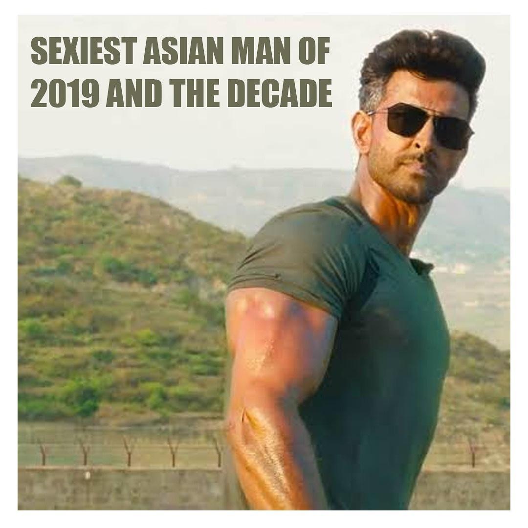 @iHrithik - Sexiest Asian Man Of 2019 & The Decade 🤩❤️💯..#hrithikroshan #hrithik #War #Super30 #bollywood #bollywoodstars #bollywoodactors #bollywoodmovies #bollywoodnews #salmankhan #shahrukhkhan #akshaykumar #aamirkhan #ranveersingh #ranbirkapoor #varundhawan