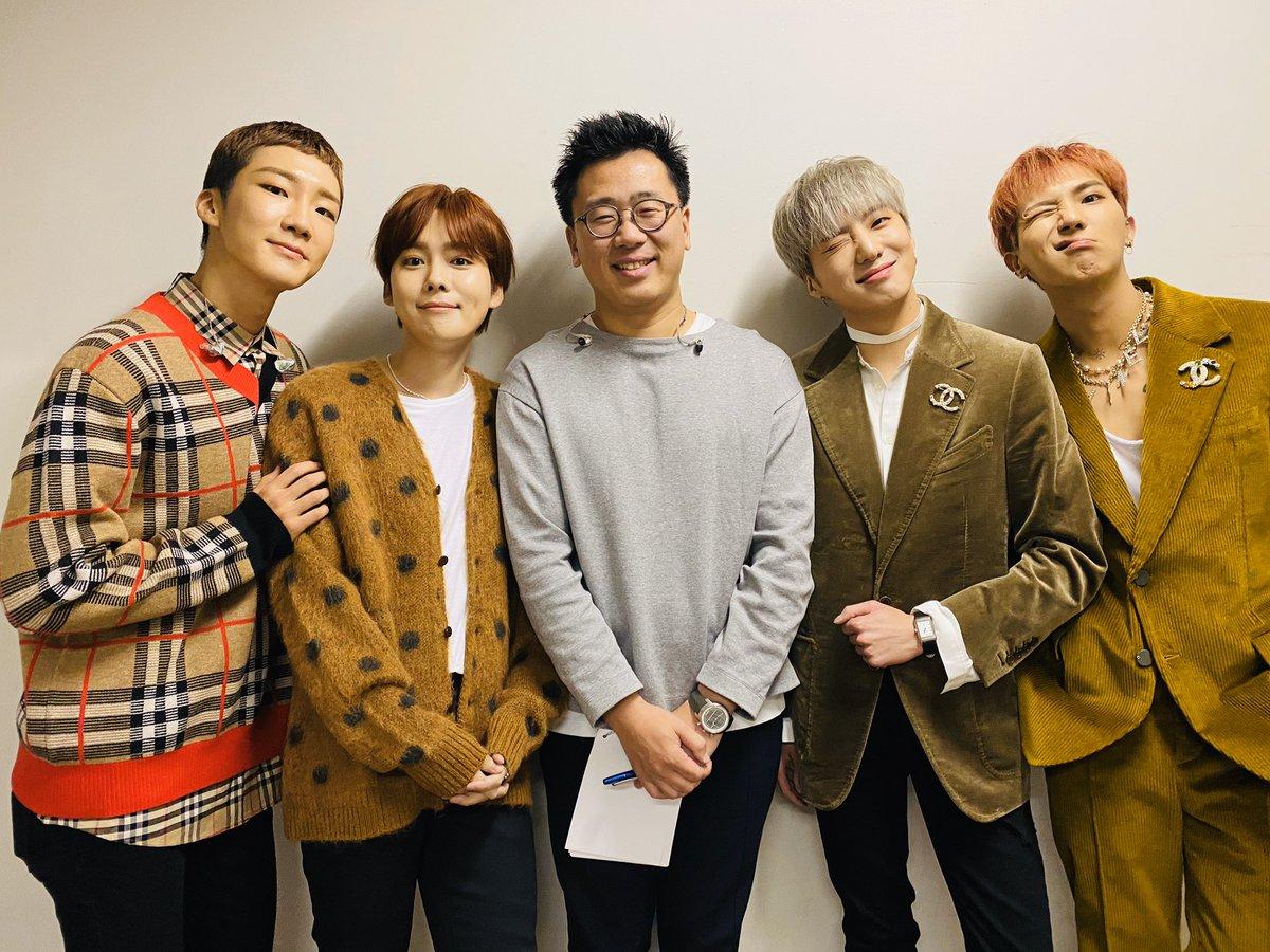 今日は先週の韓国に引き続きWINNERの皆と一緒でした‼️来年発売の『WINNER THE BEST