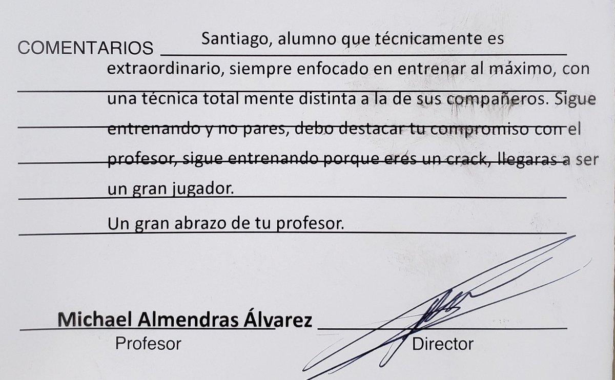 El informe del profe de Santi en el cierre de temporada de la Escuela de Fútbol UC 💙❤ #MiOrgullo #LosCruzados @CruzadosSADP