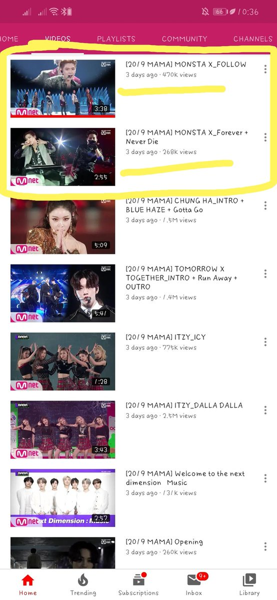This is very sad. Others hit million of views in just an hour or even just 1 day. This group who only knows to work very hard for their fans, who are scared of losing their fans. Still gets this views for 3 days. Where's the monbebe's out there? I hope you see this.  <br>http://pic.twitter.com/pJc3g8lBG7