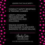 Recurring training sessions are an important part of maintaining a safety culture.  💗🏡