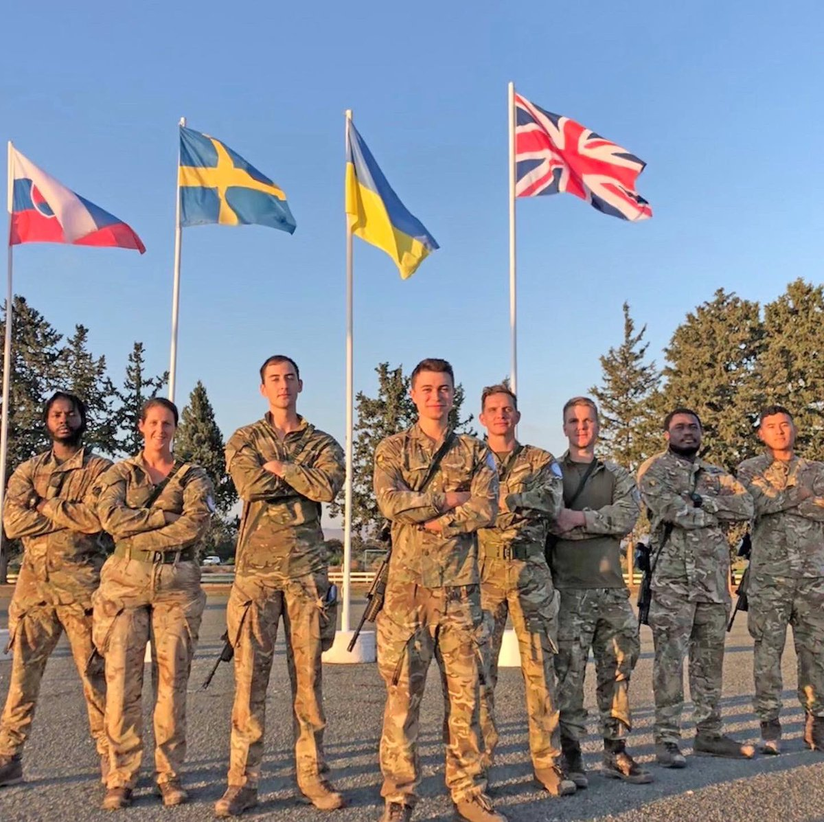 UNFICYP Military Skills Competition   Both our teams displayed outstanding teamwork, robustness and discipline. Especially fitting in a demanding training programme alongside their primary roles   Although not victorious this time, they all embodied the #Wolfpack spirit!  <br>http://pic.twitter.com/EQ20nN7p9L