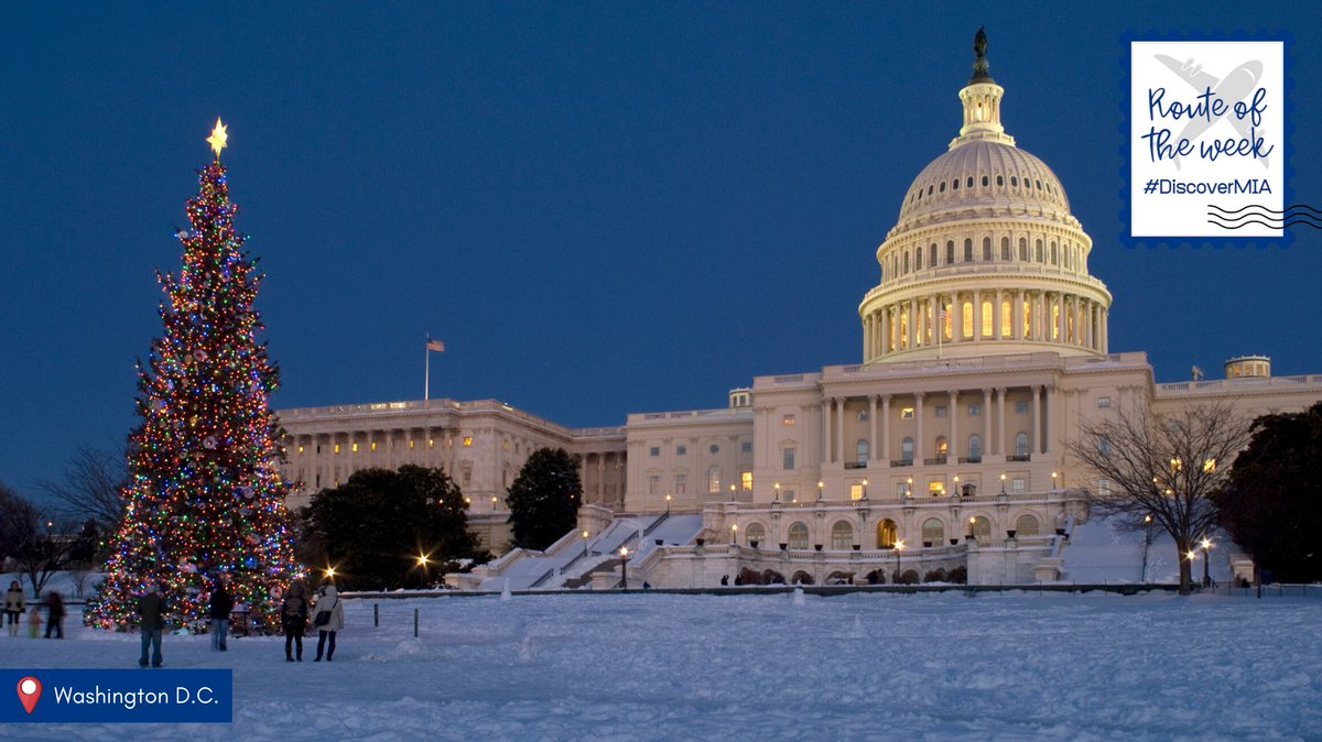 There's even more to see in the winter in Washington D.C. Our nation's capital is transformed into a winter wonderland full of skating, shopping, shows and more! #DiscoverMIA