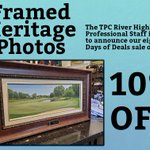 Image for the Tweet beginning: Framed Heritage Photos are 10%