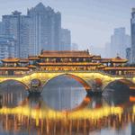 Image for the Tweet beginning: Copenhagen, Denmark to Chengdu, China