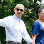 Image for the Tweet beginning: The Obamas now own property