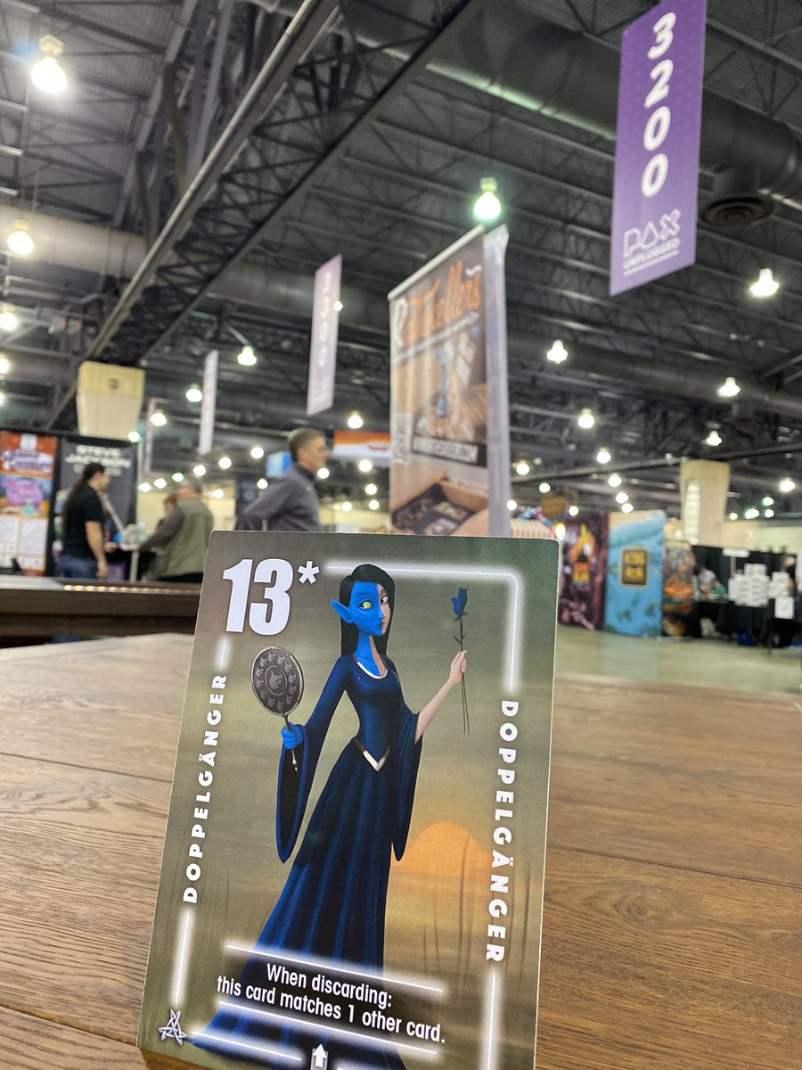 Good morning @pax attendees!! Four Silver cards have ventured into the convention hall... find & return one of them to our booth 2733 for a sweet reward!! #PAXUnplugged #PAXUnplugged2019 #silvercardgames