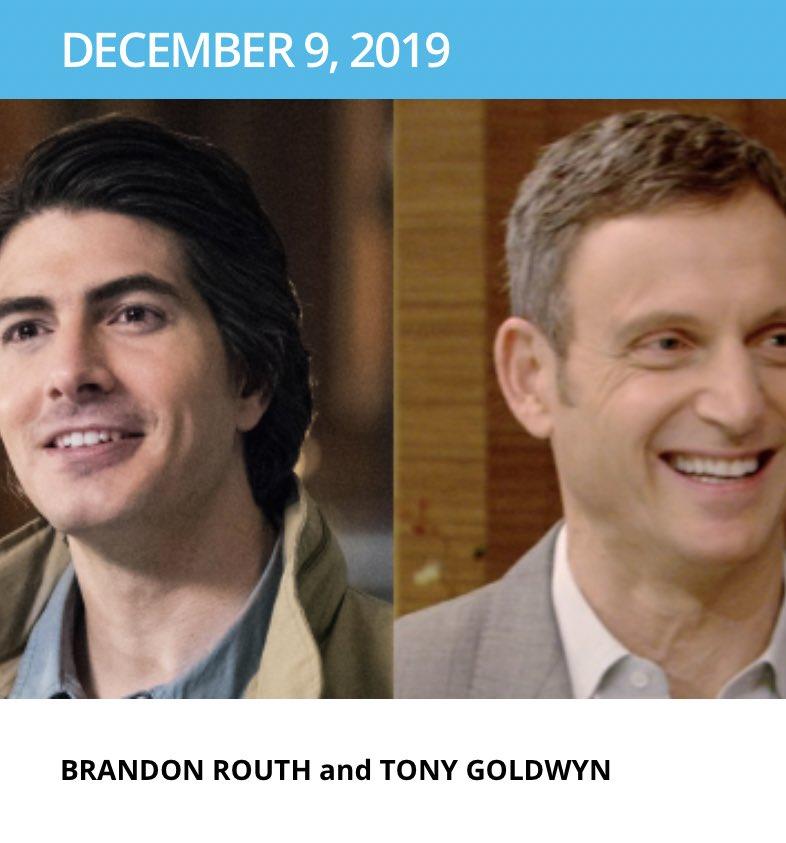| @TonyGoldwyn will be on @LiveKellyRyan this Monday, December 9th!<br>http://pic.twitter.com/8ERbJocfaQ