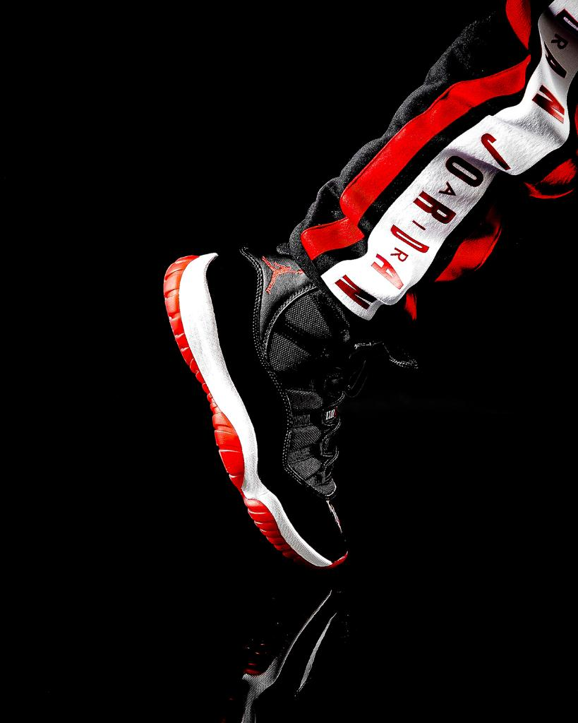 Jordan Retro 11 'BRED' Launching