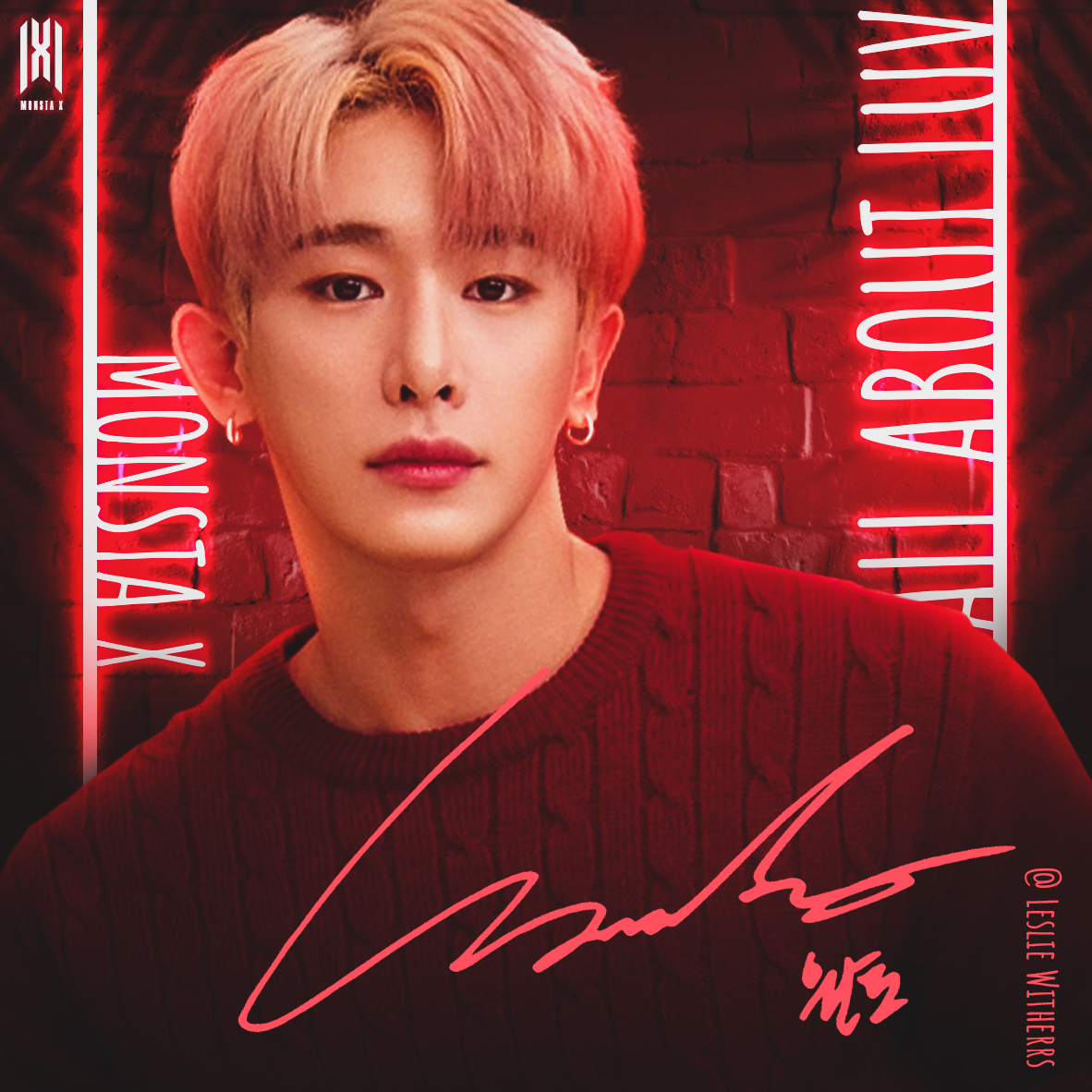 Monbebee~ All album covers will be finished soon 1/7 I will continue~ What do you think?   #MONSTA_X #AllAboutLuvForWonho #스타쉽_몬엑_잘_좀_케어해  @OfficialMonstaX   @STARSHIPent can i work for you? ㅋㅋ<br>http://pic.twitter.com/L1eaaauR9h