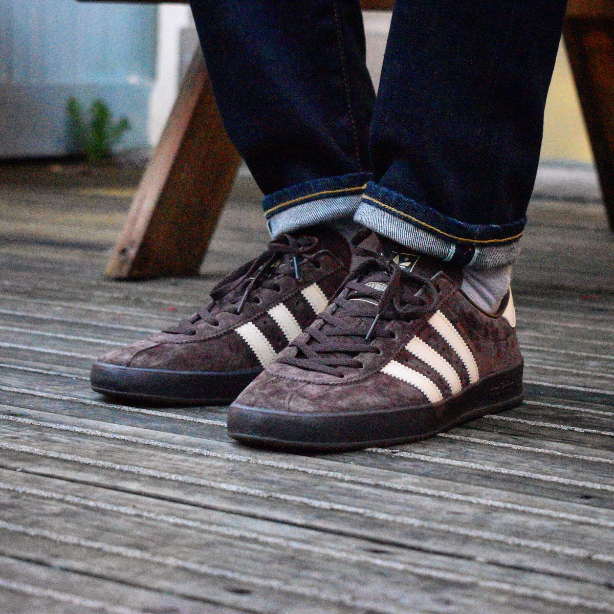 Attic Clothing On Twitter An Great New Colourway In The Ever Popular Adidasoriginals Broomfield Trainer Brown Easy Yellow Gold Metallic In Store And Online Now Https T Co Z2hn1zfrhw Https T Co Vy690ogu2z