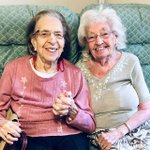 Image for the Tweet beginning: 89-year-old women who have been