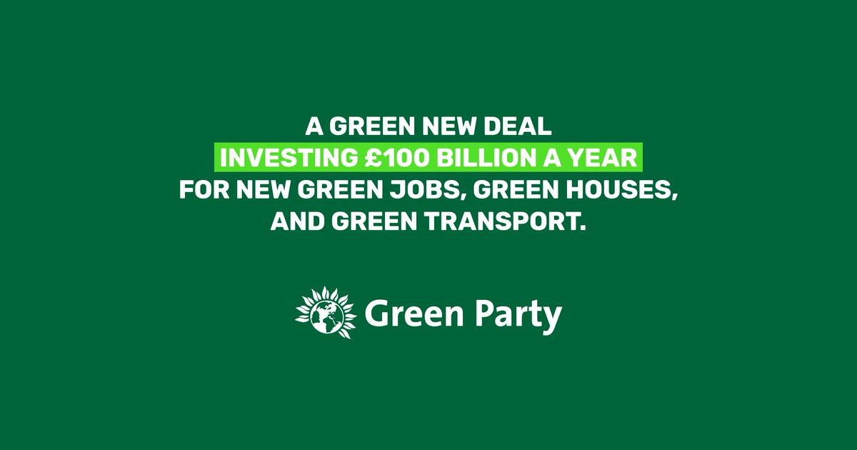 Our manifesto is the only one that includes the radical and immediate action needed to stop runaway climate chaos and a commitment to net zero carbon by 2030: campaigns.greenparty.org.uk/manifesto/#gnd Accept no substitutes #ClimateElection #GE2019
