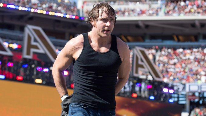 Dean Ambrose happy birthday