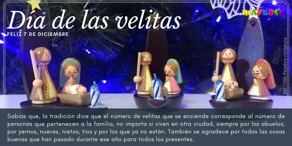 El día de las velitas o noche de las velitas es una de las festividades más tradicionales de Colombia, con la que se celebra el dogma de la Inmaculada Concepción de la Virgen María. #Felizdíadelasvelitas #Velitas #Pesebre #Mafego #Colombia  https://t.co/8tX3yA6Yz7 https://t.co/0jIez0fJRS