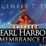 Image for the Tweet beginning: On #PearlHarborDay, we salute the
