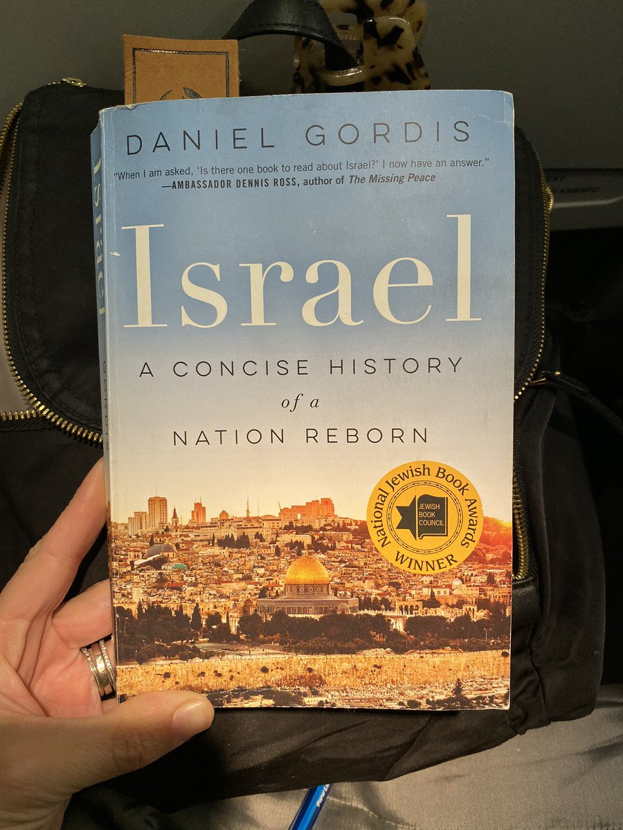 My current read. Most of us (especially millennials) need to know more! #Israel #danielgordis
