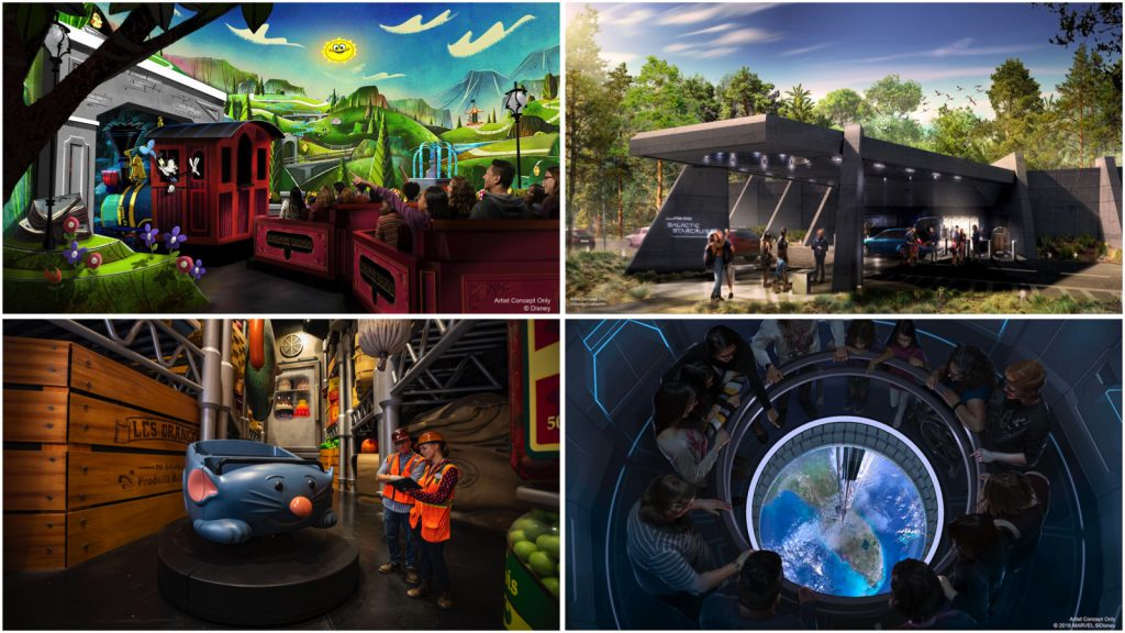 Check out our recap of all the exciting Disney Parks announcements we shared this week, including new details & dates about Mickey & Minnie's Runaway Railway, #StarWars: Galactic Starcruiser and more! bit.ly/2DGHFCp