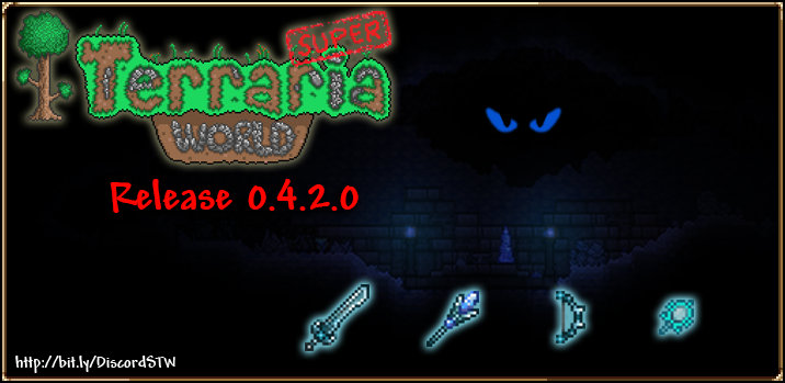 Super Terraria World On Twitter Release 0 4 2 0 Of Stw Is Now Available To Download Our First Group Boss Fight Can Now Be Accessed Along With A New Teleportation Network Face The Frozen I do not know how and it is confusing. twitter