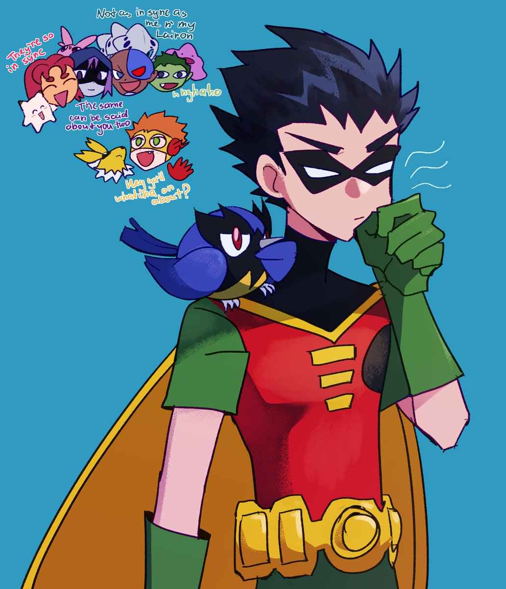 Teen titan robin without costu mm