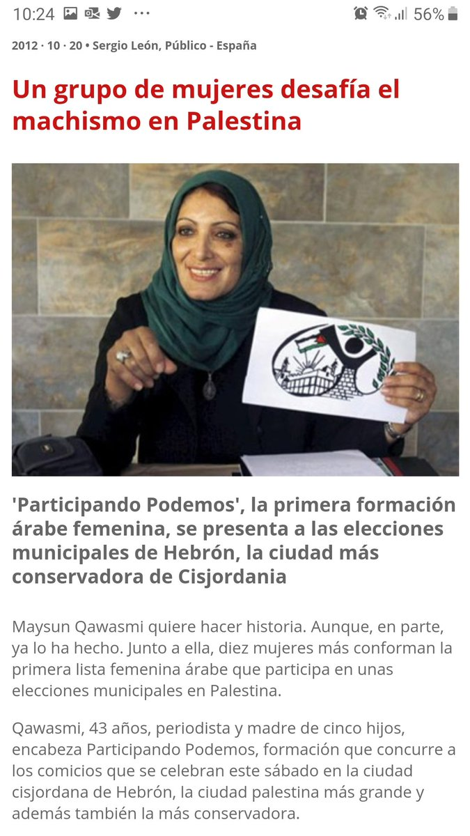 """Deberían """"expresarse"""" frente a la Embajada Palestina, q representa el patriarcado, machismo y la opresión de las mujeres. En Israel no solo se respeta a las mujeres, q pueden estudiar y ejercer la profesión q quieran, sino también al LGBTI. Golda Meier fue 1er Ministro 1969-74"""