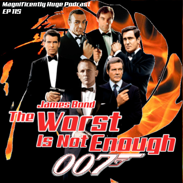 🚨NEW! EP115🚨Our #JamesBond tribute week is almost over!  We've also seen the new trailer for #NoTimeToDie and can honestly say, The Worst Is Not Enough.https://bit.ly/2LfXlRbhttps://apple.co/2qdQY9V#PodcastHQ #podpeople #oddpodsquad #podfix #FilmTwitter #movies #podcast